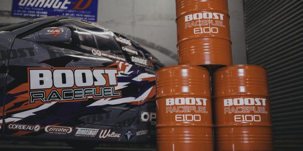 Matt Carter + Boost racefuel